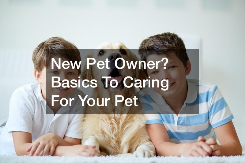 new pet owner checklist